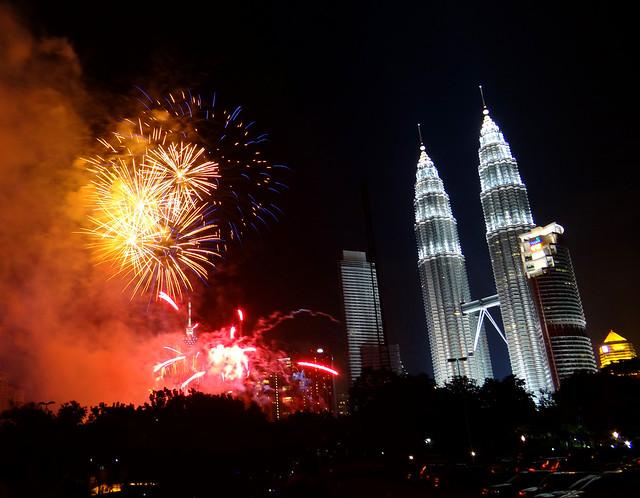 Kuala Lumpur at New Year's