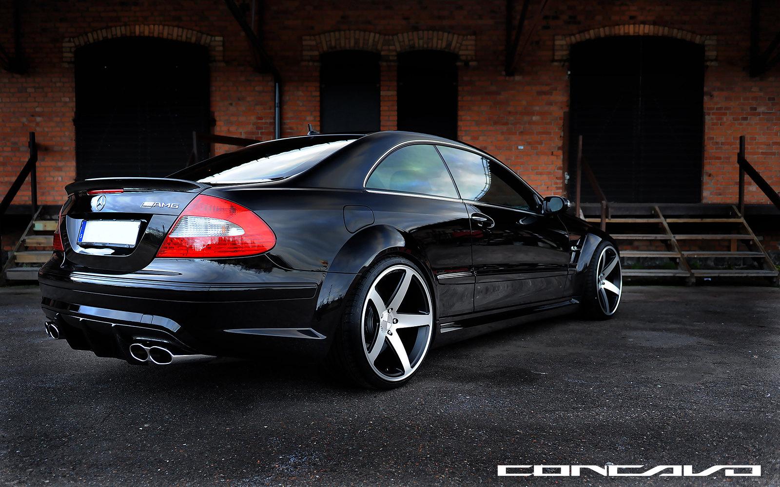 "Mercedes Benz Newport Beach >> First MERCEDES CLK63 AMG Black Series On 20"" CONCAVO CW-5 ..."