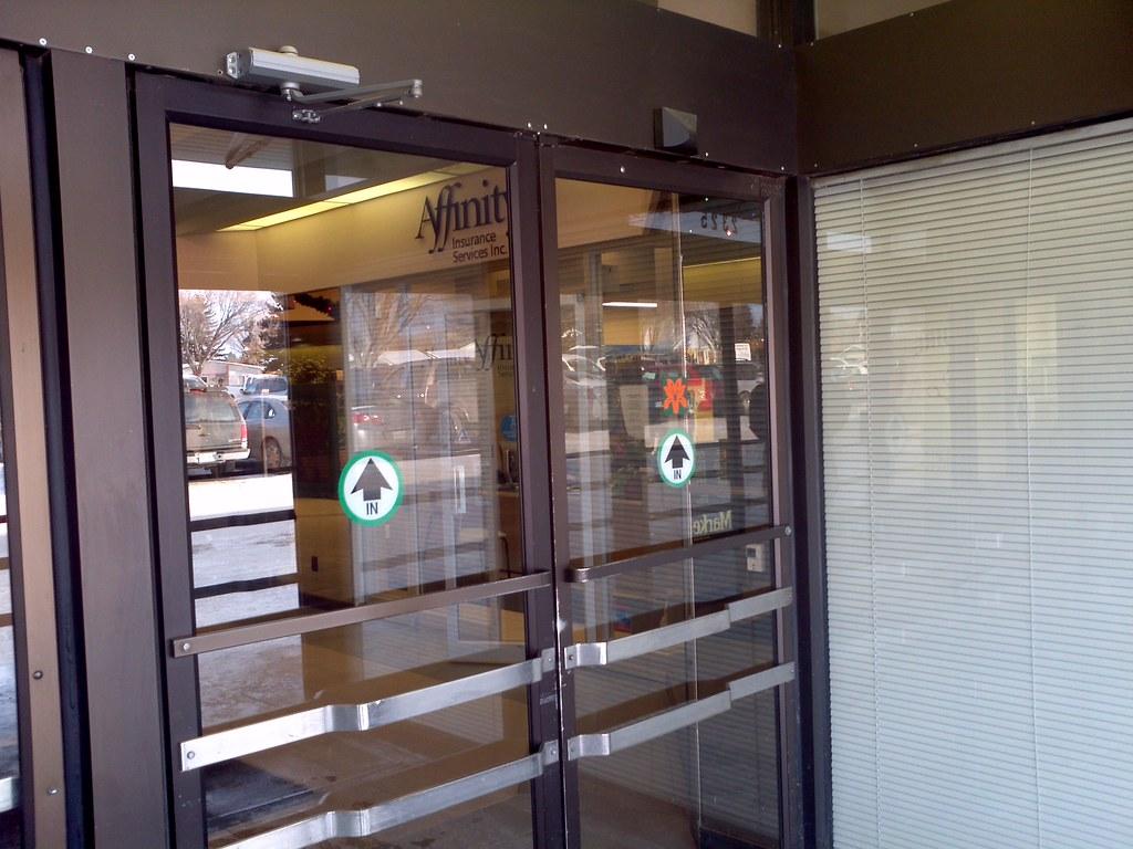 Automatic Door Stickers Kamos Sticker