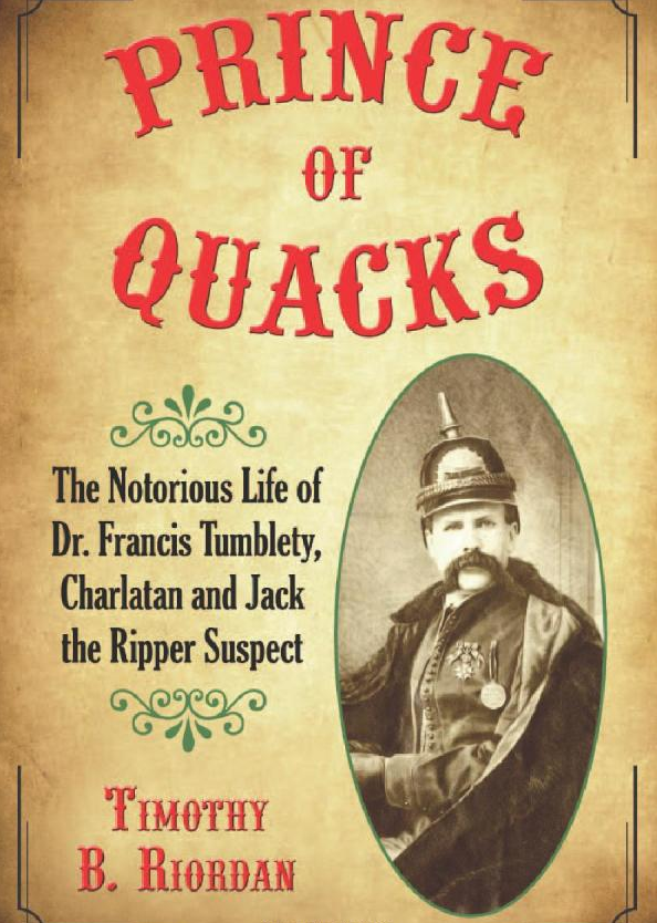 Francis Tumblety - JackTheRipper