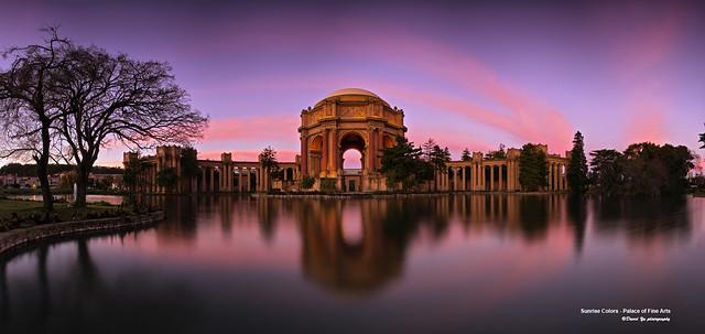 Sunrise Colors - Palace of Fine Arts