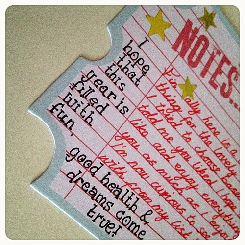 #notes #snailmail #lovelyletter