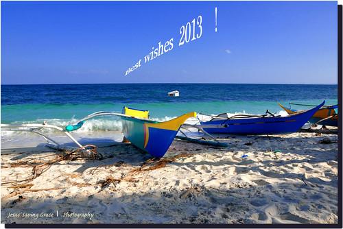 beach boats island sand philippines newyear wishes cebu pilipinas banka malapascua centralvisayas baybayon baroto