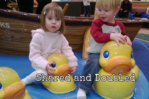 Duckies at the Mall