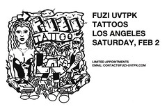 FUZI TATTOOS LOS ANGELES