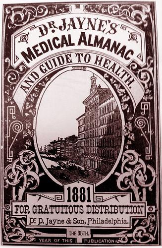 Dr. D. Jayne & Son, Philadelphia, 1881 by JFGryphon