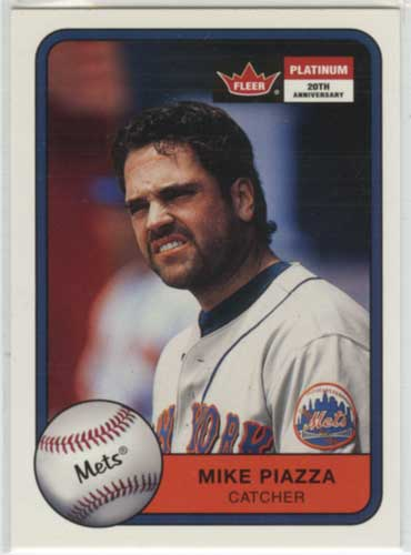 2001 Fleer Platinum Mike Piazza