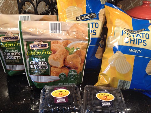 Aldi Gluten Free Chicken Nugget Shopping for 1/9/2013 - The