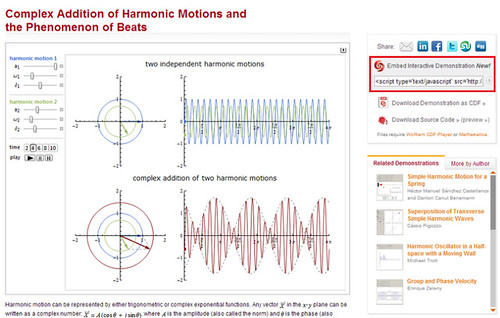 Wolfram Demonstrations