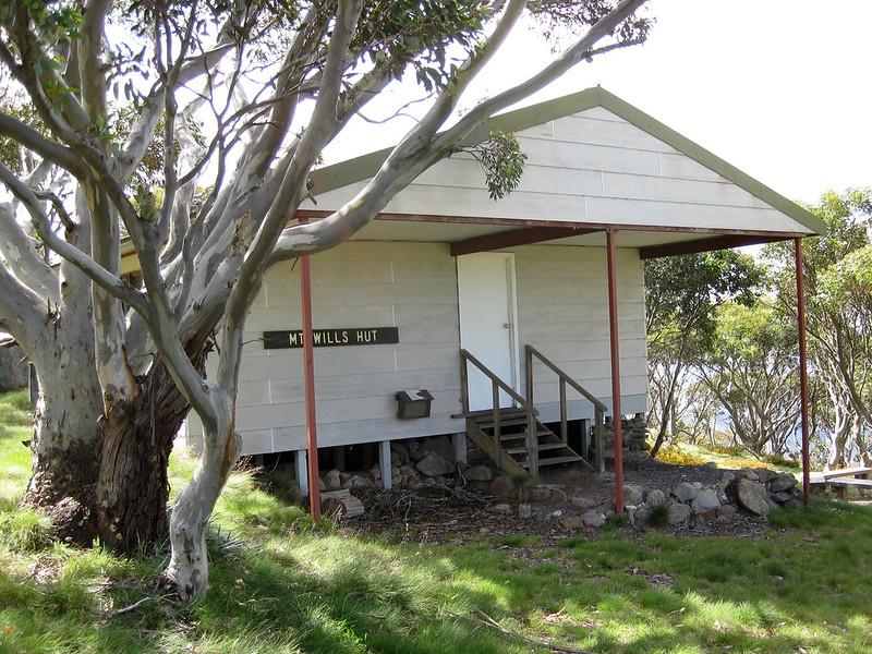 Mount Wills Hut (at the summit) - Mount Wills - Alpine National Park - Victoria - Australia