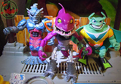 Nickelodeon  TEENAGE MUTANT NINJA TURTLES :: FISHFACE  xvii / .. with MERDUDE & RAY FILLET (( 2012 ))