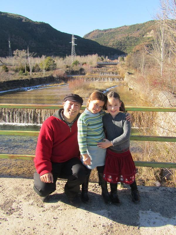 Yo con dos sobrinetas