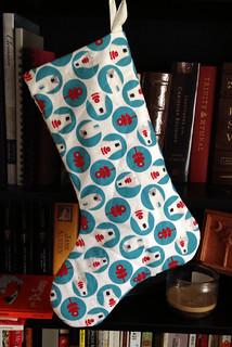 Isaac's stocking back