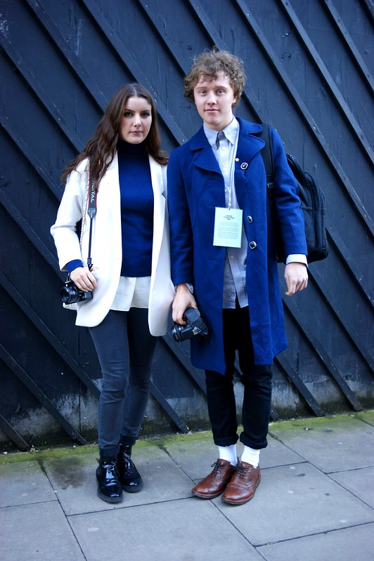 Street Style - Emma & Nick, London Collections: Men