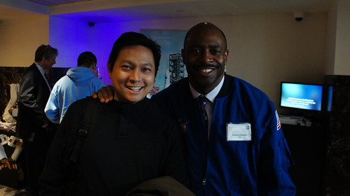 Me and NASA Astronaut Leland Melvin