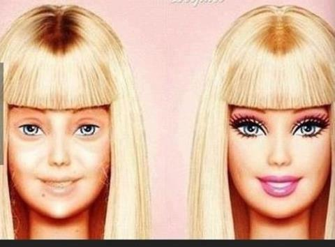 Barbie Before and After