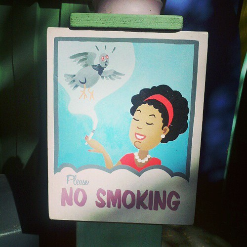 #nosmoking #fairyland #oakland