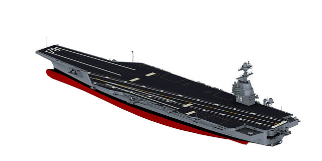 3d graphic of aircraft carrier gerald r ford flickr photo. Cars Review. Best American Auto & Cars Review