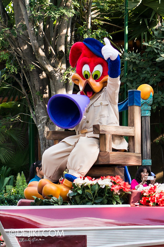Hollywood Dreams Parade - Woody Woodpecker