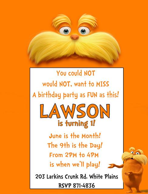 Lawsons Invite