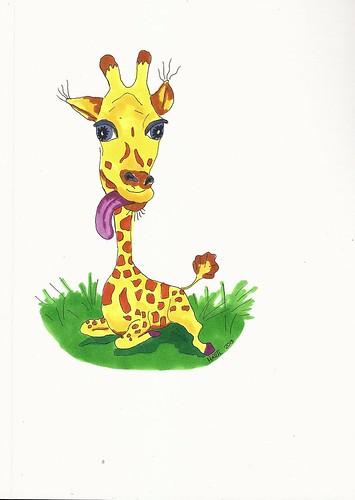 giraffe 7 by wiggy81