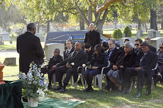 Funeral of Mrs Vance