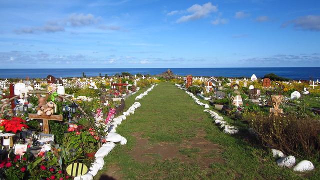 Rapa Nui Cemetery