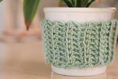 Some sort of a plant cozy.