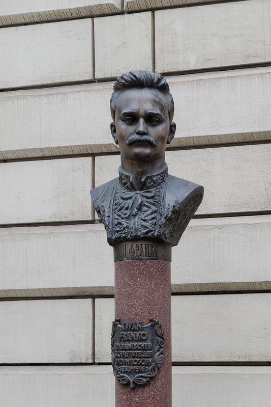 Ivan Franko monument