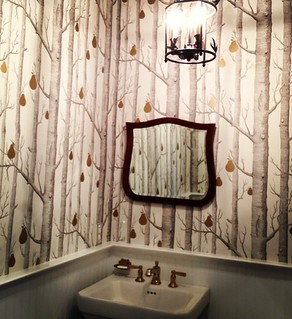 client powder room - lakbdesign llc