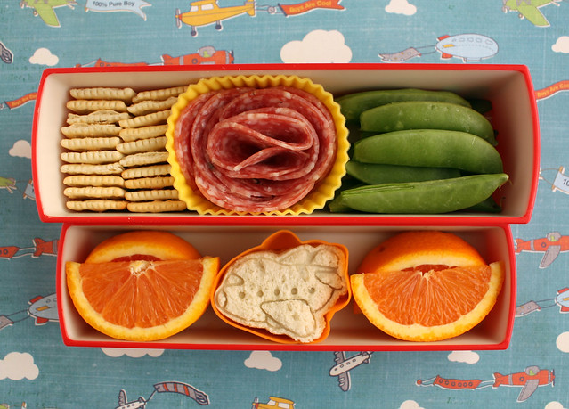 Preschool Airplane Bento #395