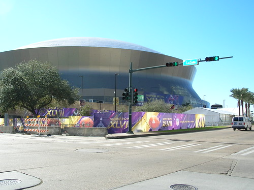 Superdome tricked out