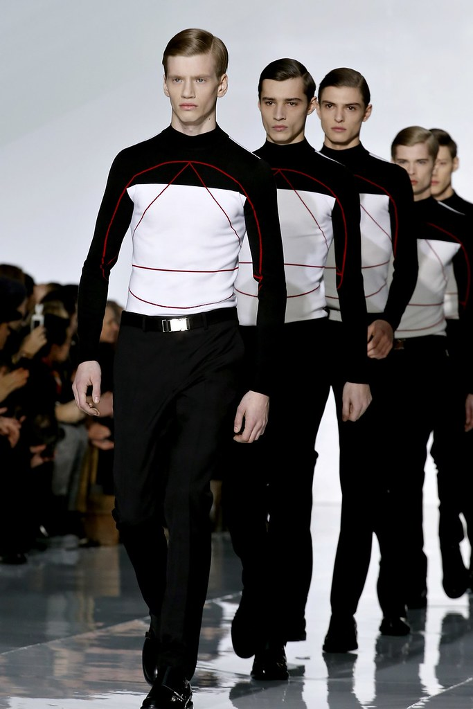 FW13 Paris Dior Homme073_Justin Sterling,Adrien Sahores,Guerrino Santulliana,Frederik Tolke(GQ.com)