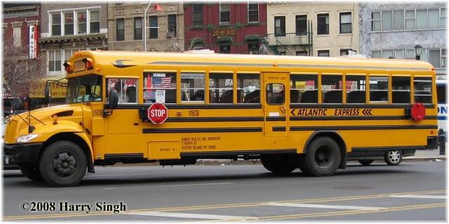 2005 Bluebird International School Bus From New York