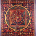 006-Thang Kha. Mandala Vasudhara. Painted on textile-detalle. siglo XV-© The Trustees of the British Museum