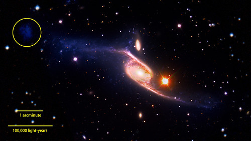 NASA's GALEX Reveals the Largest-Known Spiral Galaxy
