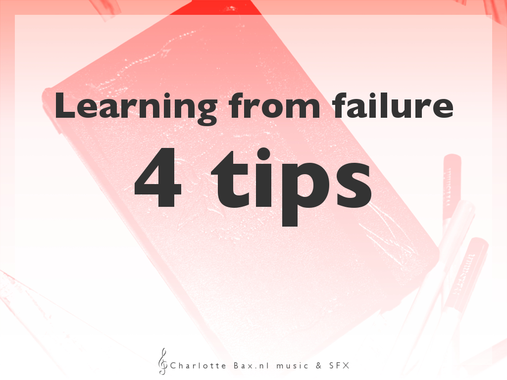 learning from failure n 4 tips
