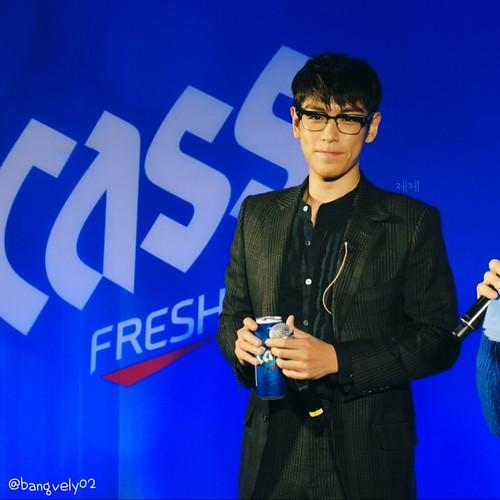 TOP Cass Fresh Pub Event Seoul 2016-01-18 by bangvely02 (7)