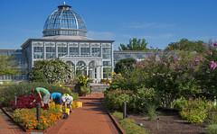 'Tending Their Gardens' -- The Lewis Ginter Botanical Garden Richmond (VA) August 2016