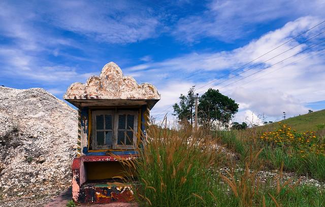 Old shrine by the quartz quarry
