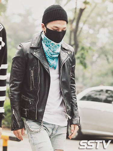 Taeyang BIGBANG KBS Music Bank arrival 2015-05-15 PRESS012