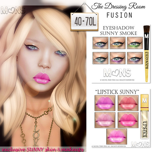 MONS Exclusive Sunny Skin & Makeups (TDR Fusion) by Ekilem Melodie - MONS