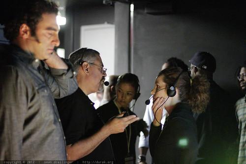 Backstage at TEDxSanDiego 2012