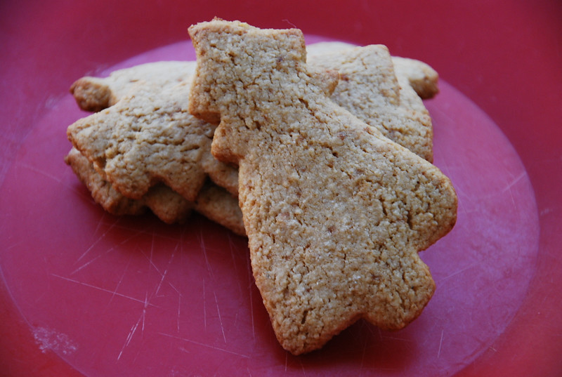 coconut sugar cookie cutouts