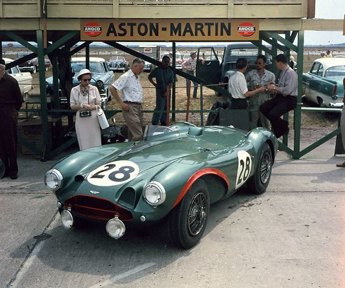 Aston Martin DB3S at Sebring 1956 by Nigel Smuckatelli