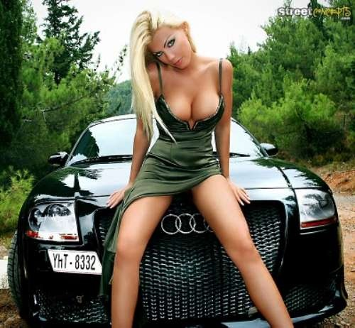 Hot car girl nude can not with