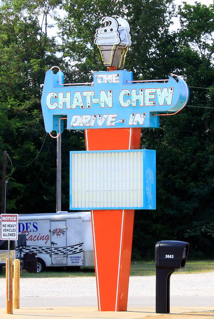 The Chat-N-Chew Drive-In
