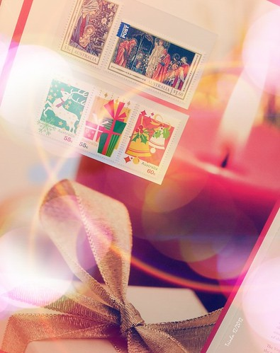 Oz' Xmas stamp collection of 2012