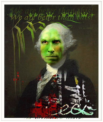 gonzo® washington (we are better tha' this) by Stephen R Mingle