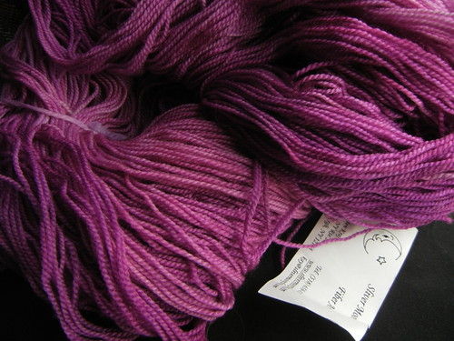 "Sliver Moon Superwash Yarn ""Orchid"""